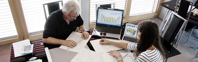 Nous sommes co concepteurs chlo la maison passive de for Concepteurs de maison