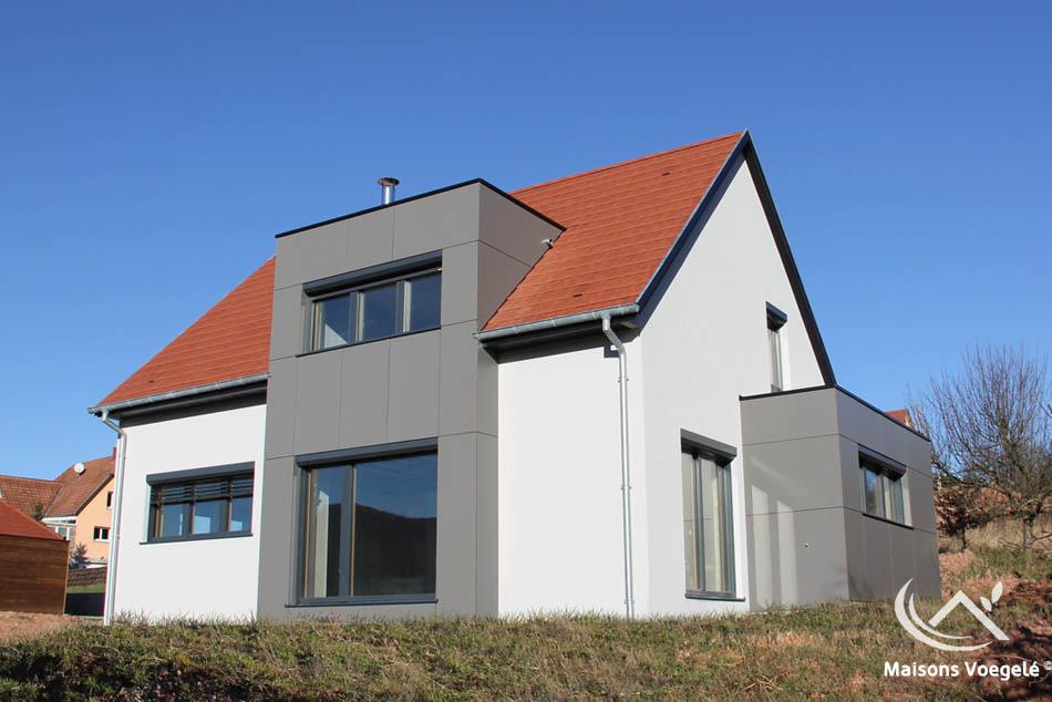 R alisations de maisons voegel consctructions de maison for Maison bioclimatique passive