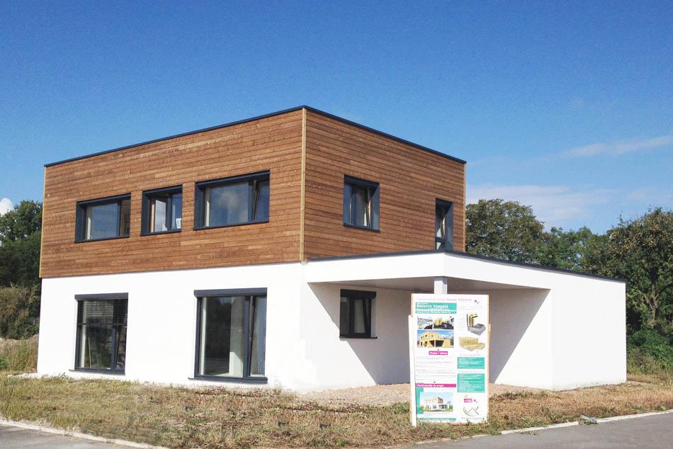 r 233 alisations de maisons voegel 233 consctructions de maison passive bioclimatique label basse