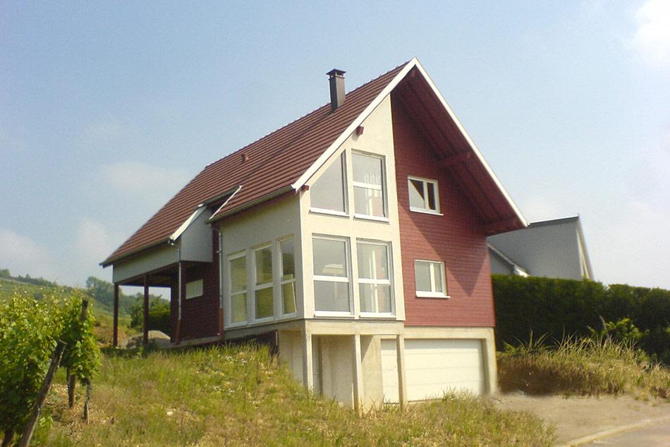 R alisations de maisons voegel consctructions de maison - Maison tres basse consommation ...