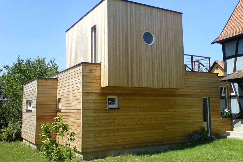 Extension Bois Toit Plat u2013 Mzaol com # Agrandissement Ossature Bois Toit Plat