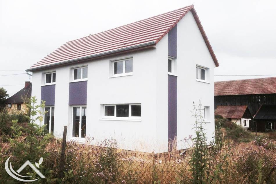 R alisations de maisons voegel consctructions de maison for Constructeur maison basse consommation